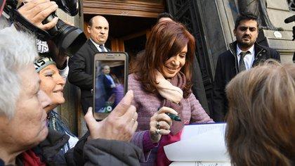 Cristina Kirchner (foto de archivo: Télam)
