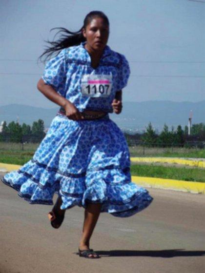 En 2010, María Salmé ganól la carrera de los 10 km de Oxxo en México