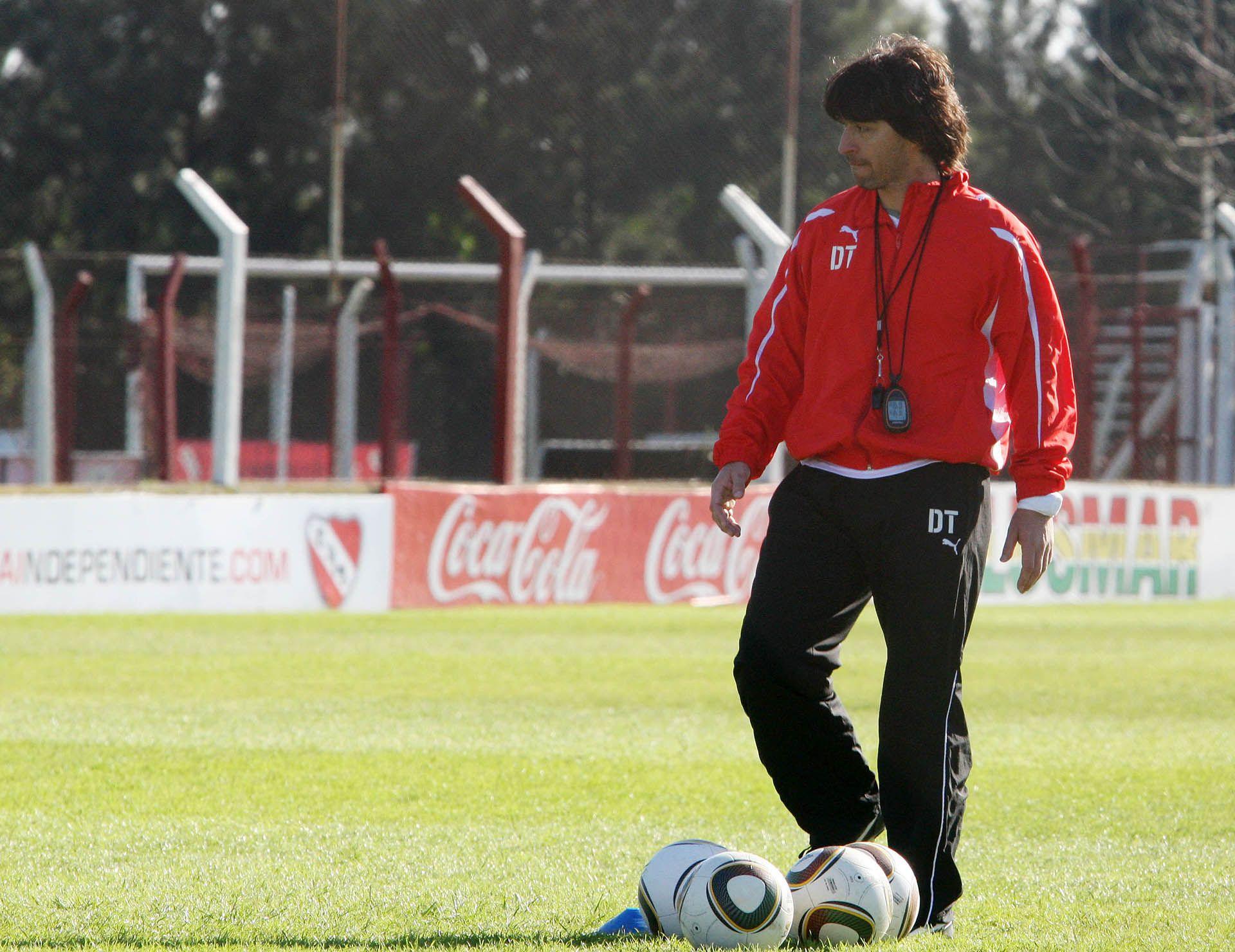 Daniel Garnero DT de Independiente