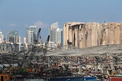 La explosió en el puerto de Beirut, Líbano, el pasado 12 de agosto. (REUTERS/Alkis Konstantinidis)