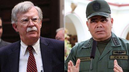 John Bolton y Vladimir Padrino