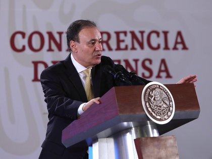 Alfonso Durazo no acompañará a AMLO en visita a los estados más peligrosos de México (Foto: EFE / Sashenka Gutierrez)