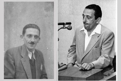 El fotógrafo Henryk Ross: poco después de haber sobrevivido a los nazis y en 1961, durante el juicio contra Eichmann en Jerusalén. (Archivo Fotográfico de Yad Vashem)