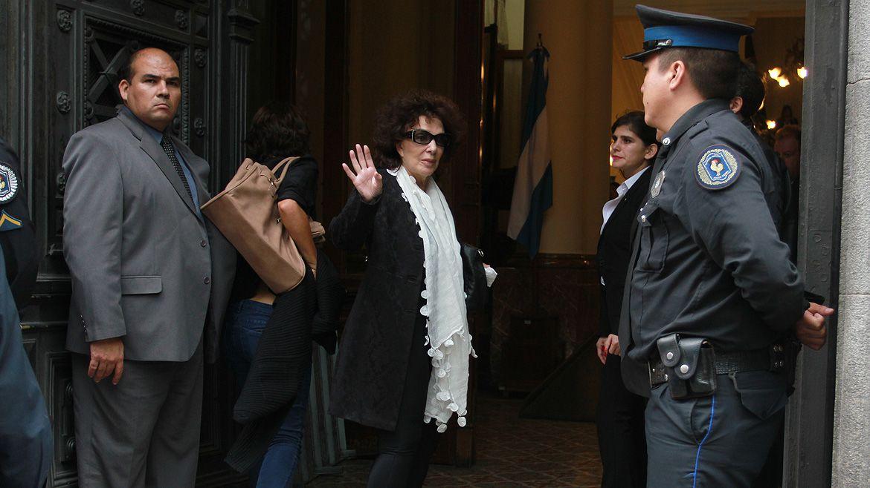 El dolor de Graciela Borges en el velatorio de su amigo Alfredo Alcón (Foto: Verónica Guerman / Teleshow)