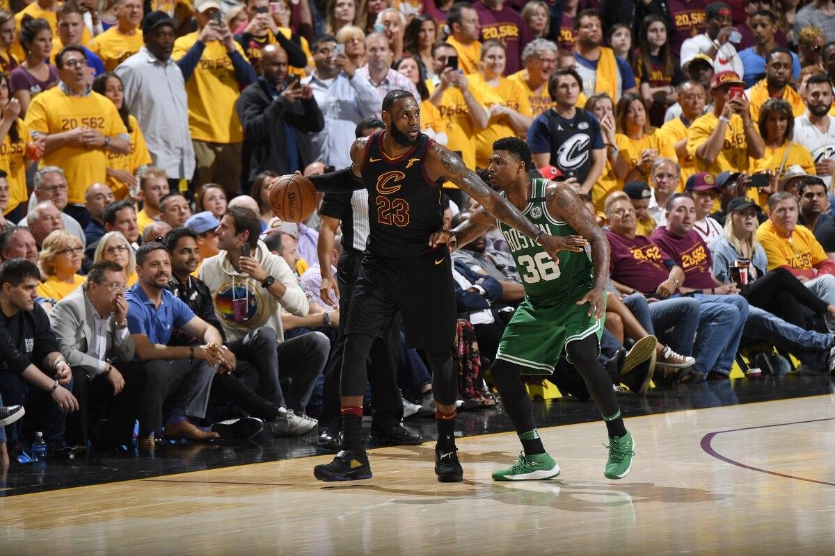 LeBron James anotó 44 puntos en la victoria de los Cavaliers ante ...