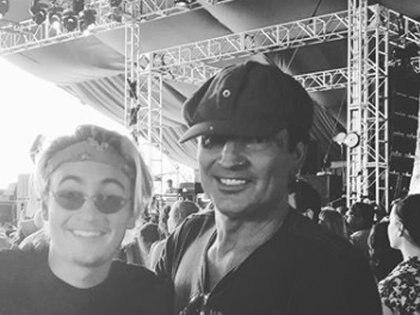 Tommy Lee acusó a su hijo Brandon de pegarle una trompada y de dejarlo inconsciente (Instagram: Tommy Lee)