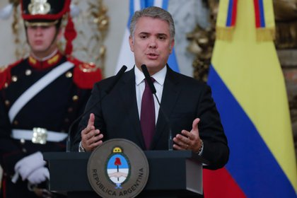 En la imagen, el presidente de Colombia, Iván Duque. EFE/Juan Ignacio Roncoroni/Archivo