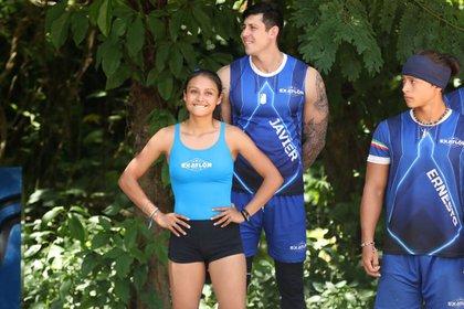 Jennifer Rodríguez llegó al equipo azul con tan solo 19 años de edad (Foto: Twitter/@ExatlonMx)