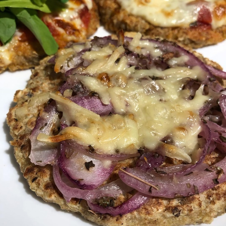 Pizzetas de quinoa