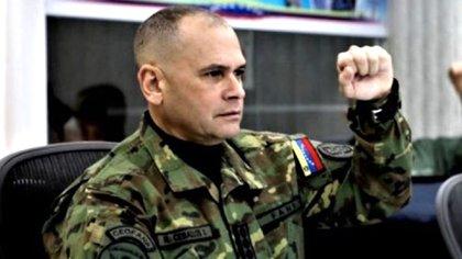 Jefe del Comando Estratégico, almirante Remigio Ceballos Ichaso