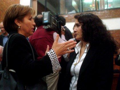 Rosario Robles acuso a Dolores Padierna de emprender una cacería en su contra (Foto: Nelly Salas/ Cuartoscuro)