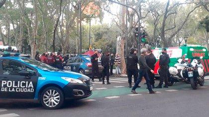 El lunes pasado hubo un tiroteo en el barrio porteño de Belgrano