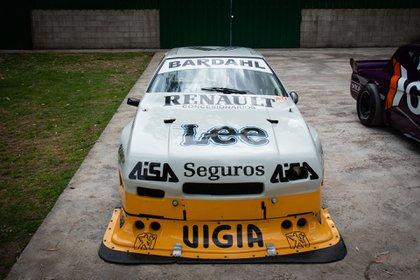 Renault Fuego campeón en 1988 de TC 2000. Con este auto ganó en llamas en General Roca, Río Negro. (Fede Asenjo)
