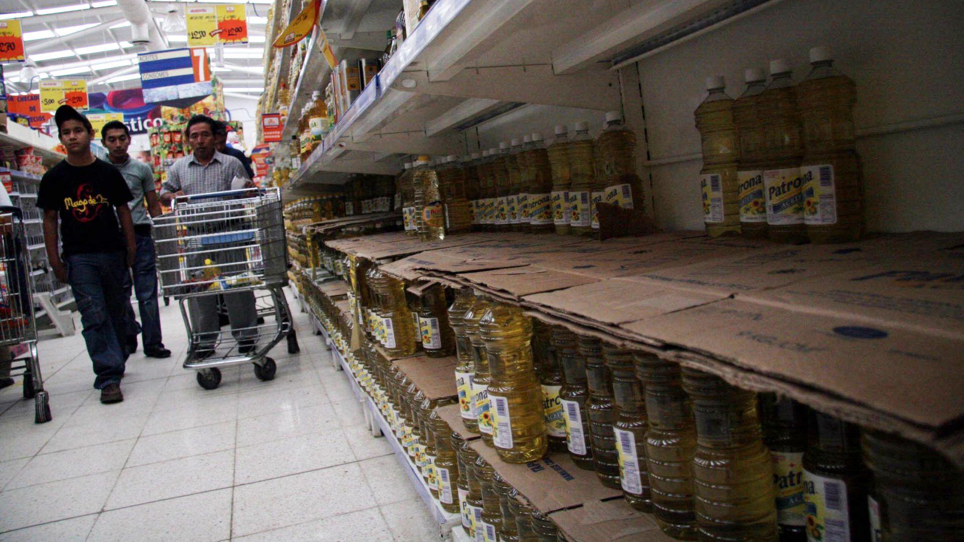 Muchos consumidores optaron por stockearse en las últimas semanas por temor al desabastecimiento