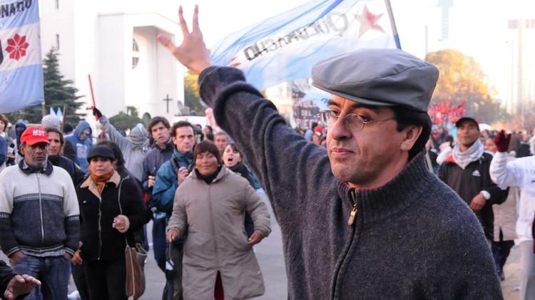 Fernando Esteche, ex líder de Quebracho (NA)