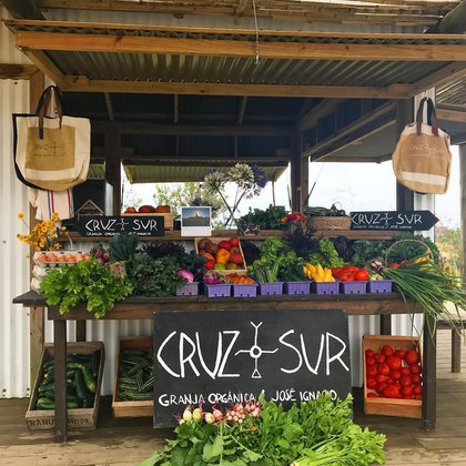 La granja Cruz del Sur, una alternativa gourmet y veggie (@cruzdelsurfarm)