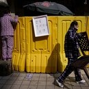 Las calles que rodean al Mercado de Wuhan en China cambiaron para siempre su fisonomía (REUTERS/Aly Song/File Photo)