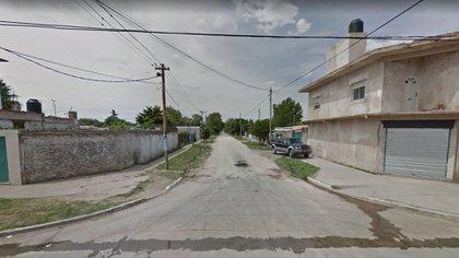 La esquina de la casa en la que fue asesinado Jorge Guadalajara