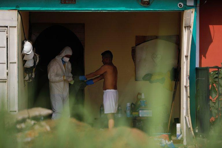37HBWHQZVGNXTFVGLPBAUL5VJQ - Macabro hallazgo en El Salvador: 14 cadáveres en la casa de un ex policía