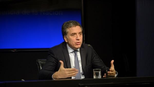 Nicolás Dujovne, ministro de Hacienda (foto de archivo: Gustavo Gavotti)