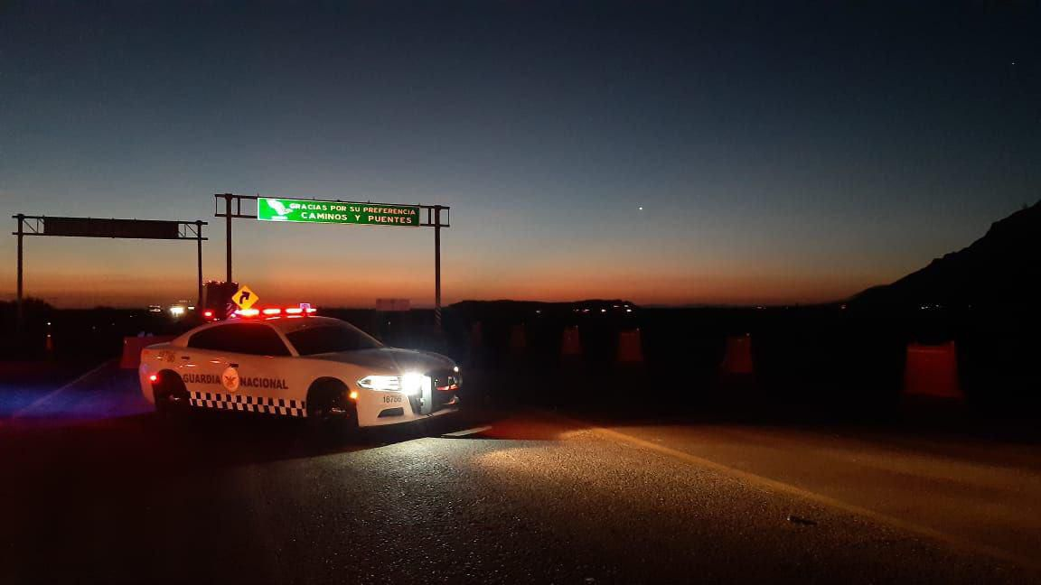 Guardia Nacional - Carreteras - Choque - Accidente