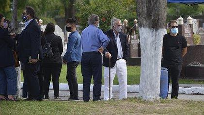 Eduardo Menem junto a Alberto Kohan