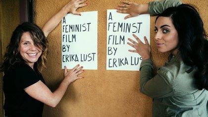 María Riot junto a Erika Lust, una de las directoras más reconocidas de Europa (Chio Lunaire)