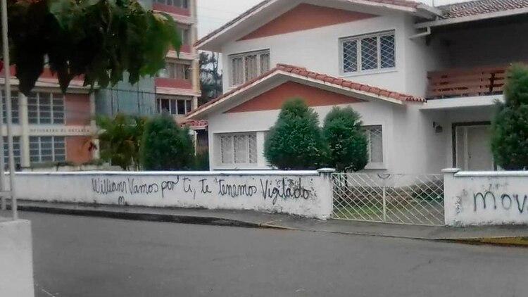 La casa de William Dávila