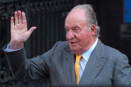 El rey émerito Juan Carlos 'reaparece' en una preocupante imagen