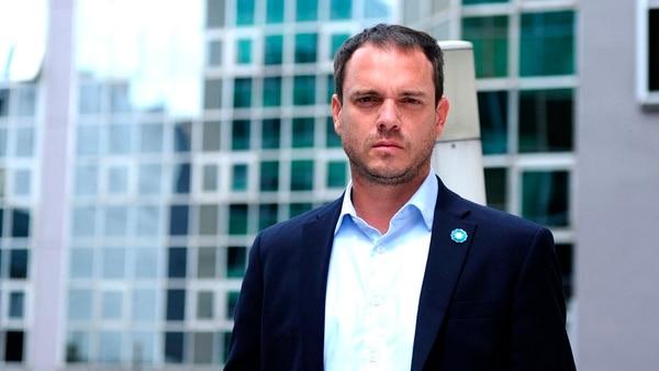 Fernando Sánchez. En el nuevo rol que ocupa en Jefatura de Gabinete coordina la letra chica de la iniciativa (Télam)