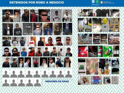 Efectivos de la SSC detuvieron a 15 personas por robo en establecimientos comerciales  (Foto: Twitter/SSP_CDMX)