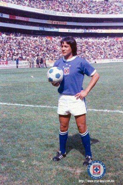 Muciño brilló con Cruz Azul, fichó por Chivas y fue asesinado en Guadalajara (Foto: Cruz Azul)
