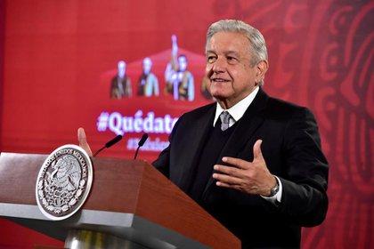 """Le manifestaron a López Obrador sus preocupaciones y se dieron de plazo hasta finales de la semana """"para ver si en una reunión posterior podemos tener un consenso completo"""". (Foto: Presidencia de México)"""