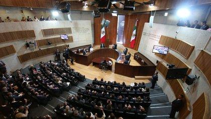 Hernández mostró su pragmatismo al participar en un proceso que había cuestionado duramente en la previa (Foto: TEPJF)