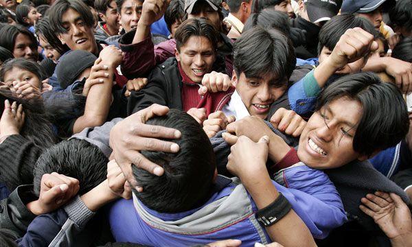 Rulli responsabiliza en buena medida a Evo Morales por la violencia desatada en Bolivia - EFE 162