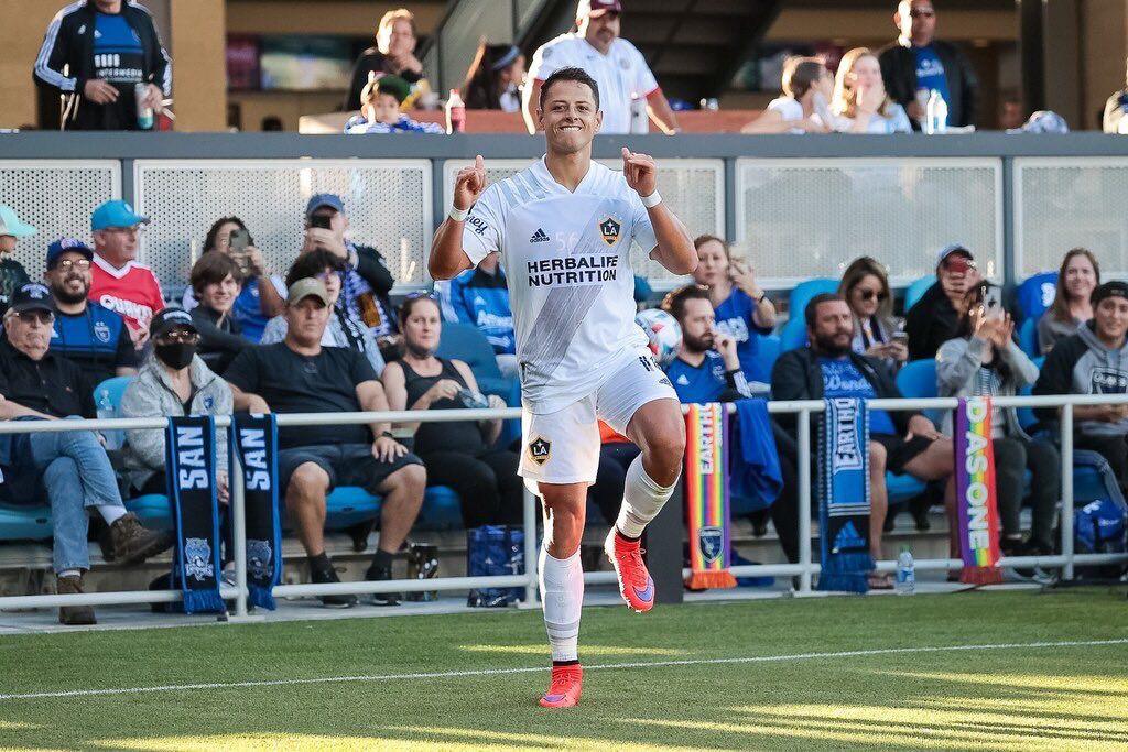 Chicharito Hernández llegó a 10 goles en la MLS