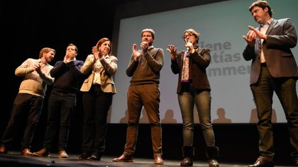 Socias, Recalde, Neira, Lammens, Marziotta y Barroetaveña