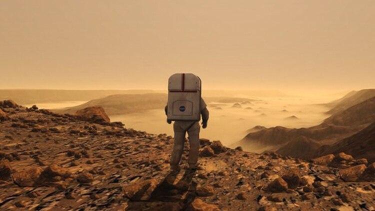 El sueño de pisar el planeta rojo está cada vez más cerca (NASA)