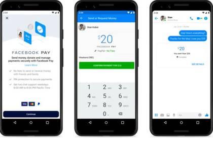 Facebook Pay comenzará a estar disponible en Estados Unidos.