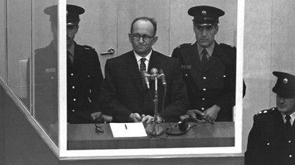 Eichmann, juzgado en Jerusalem