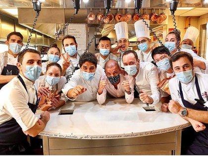 Mauro Colagreco, el argentino que se encarama como mejor chef del mundo