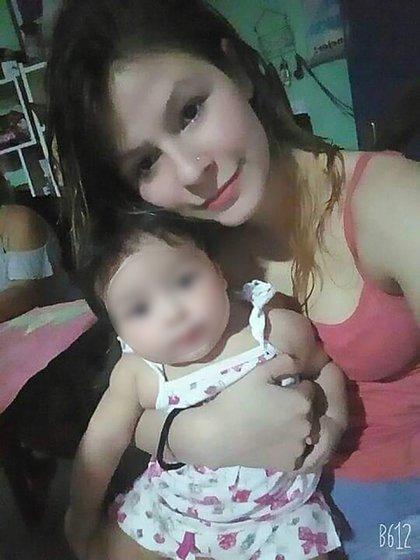 En su huida, Brianthe dejó abandonada a su hija de 7 meses