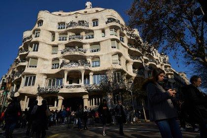 La Pedrera (o Casa Milà), diseñada por el arquitecto catalán Antoni Gaudí, en Barcelona, España (Samuel Aranda para The New York Times)