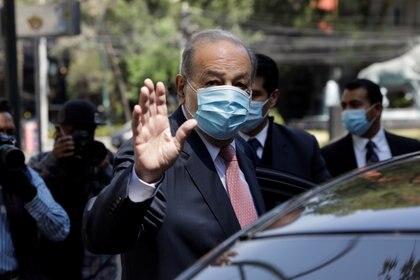 Carlos Slim es considerado uno de los hombres más ricos de México (Foto: Reuters/Luis Cortes)