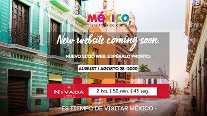 VisitMéxico mostrará este martes la nueva versión de la portal (Foto: Captura de Pantalla)