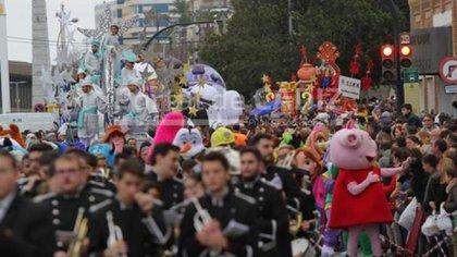 cabalgata de Reyes Magos en Cadiz