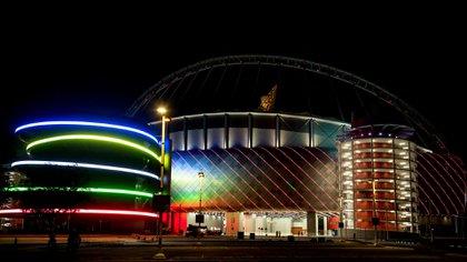 El Khalifa Stadium será una de las sedes del Mundial que se jugará entre noviembre y diciembre de 2022 (Reuters)