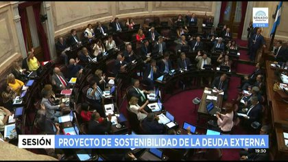 El Parlamento, que aprobó el proyecto de sostenibilidad de la deuda, espera a Guzmán con cuestionamientos.