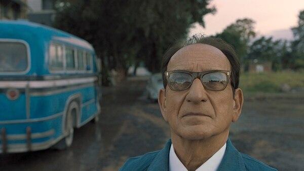"""Ben Kingsley como Adolf Eichmann en la película """"Operación final"""""""