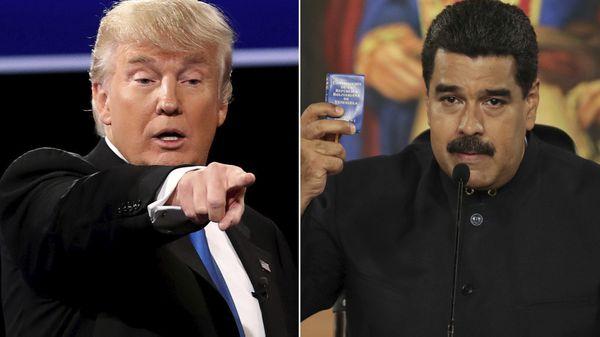 Trump advirtió que aplicará nuevas sanciones si Maduro sigue adelante con la Constituyente